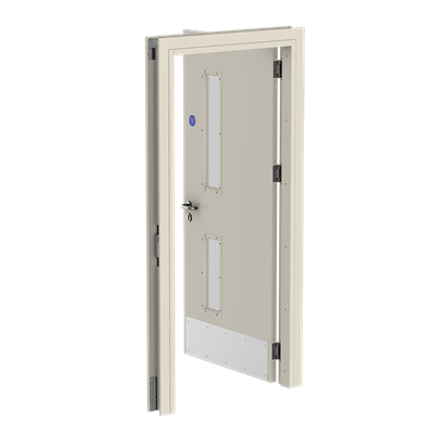 3.3 Fire Rated, Single, Door Open, Back - fire doors and frames.png