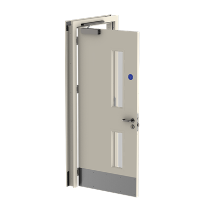 3.5 Fire Rated, Single, Door Open, Face - fire doors and frames.png