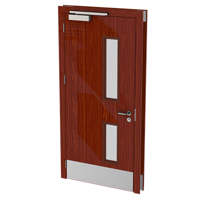 Fire Rated - Single - Woodgrain_Camera_Fire Rated - Single - Camera 1 office doors - robust doors.png